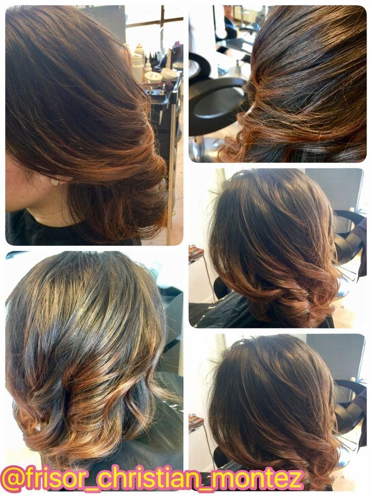 Balayage hair, hair color, frisør hårfarve, haircolor, hairdresser, olaplex