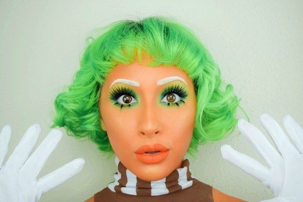 Pay homage to those hard working characters in Willy Wonka's chocolate factory by being a Oompa Loompa this Halloween.