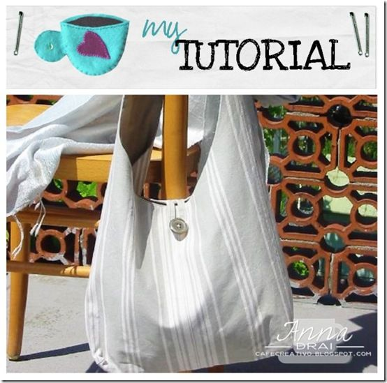 Free bag pattern: Bag template