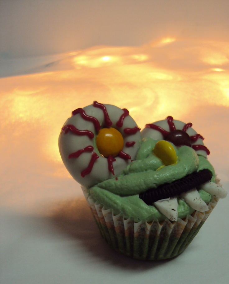 . Cupcake Monster... trick or treat??