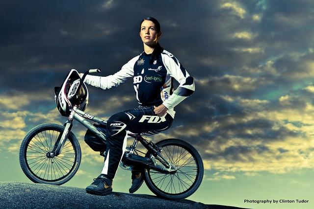 Sarah Walker (BMX, New Zealand) - World champ BMX rider from the motherland. Nice!