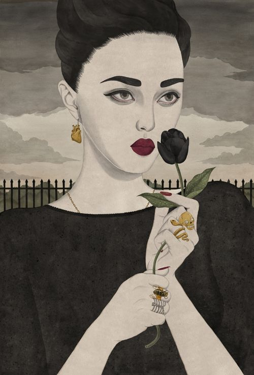 Creative Portrait Illustrations by Paul X. Johnson
