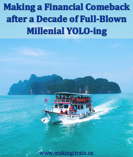 Making a Financial Comeback after a Decade of Full-Blown Millenial YOLO-ing #millenial #personalfinance
