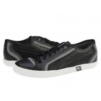 Pantofi sport barbati Puma Volley black-dark shadow-steel grey