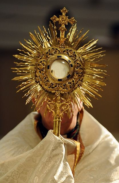 O Sacrament Most Holy! O Sacrament Divine! All praise and all thanksgiving be every moment Thine!