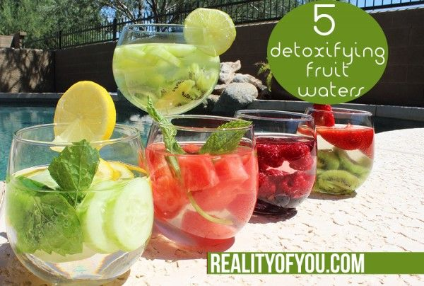 5 Best Detox Fruit Waters to flush out toxins from your body and promote weight loss!