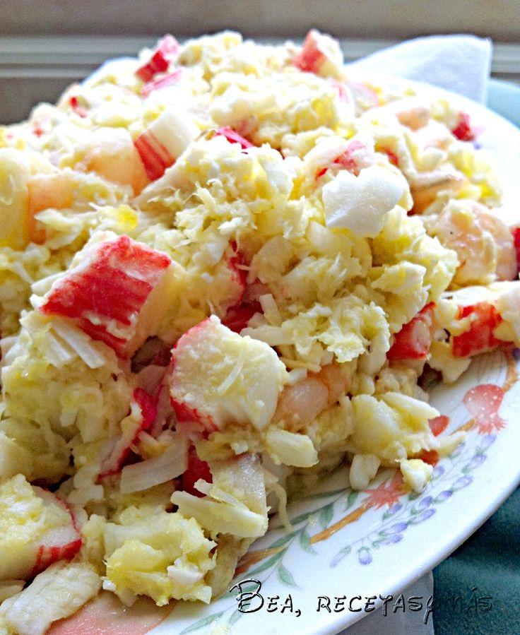 Salpicón de marisco | Recetas de cocina fáciles y sencillas | Bea, recetas y más