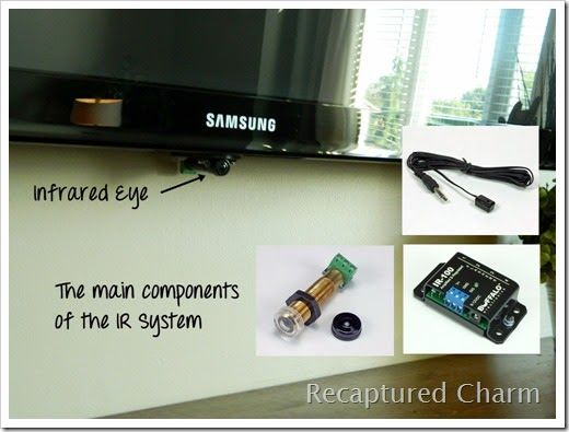 Infrared Remote Control System So Cable Boxes Dvd Player
