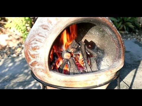 CHIMINEA, How to cook pizza to perfection in a chiminea, How to guide. - YouTube