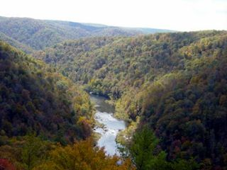 The Big South Fork River: unique because it is one of the few remaining rivers in the U.S. that is not dammed. - Photo Credit Bernadette Glasser