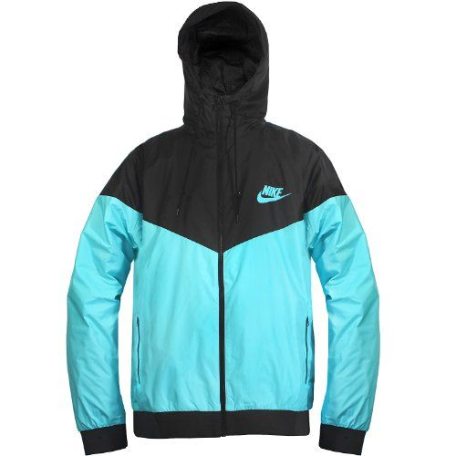 Nike Mens Windrunner Hoody, Blue, Xxx-Large 100% AUTHENTIC. BRAND NEW IN BOX. 544119-414. #Nike #Apparel