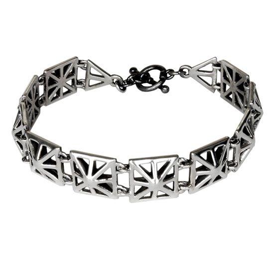 Art Deco - Silver Bracelet  #art #deco #bracelet #silver