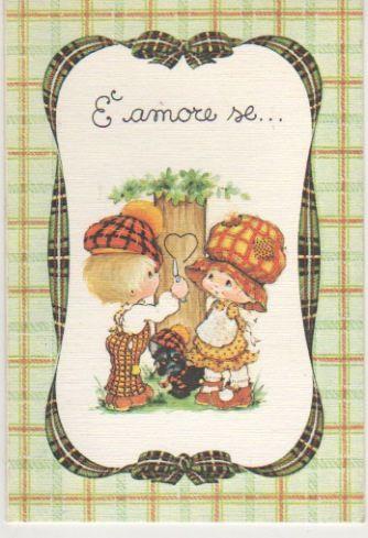 Betsey Clark Cards | ... norex italy - valentine greeting card - biglietto S. Valentino verde