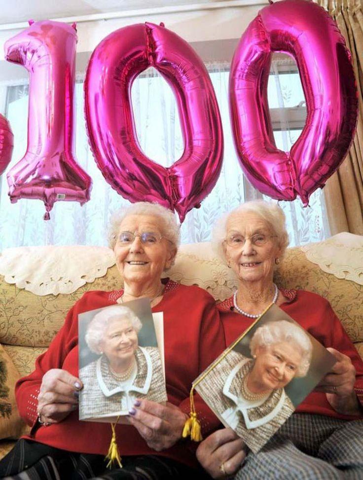 Сестры-близнецы отметили свой 100-й день рождения и поделились секретом своего долголетия. — Vinegret