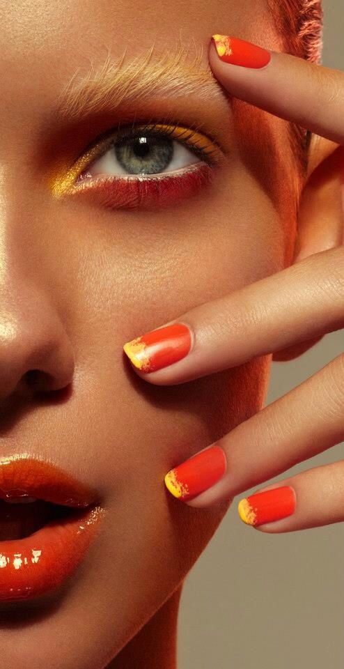 UCE Magazine 'Burned Earth' editorial. (Makeup, hair and nails by Chris Schild).