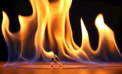 O fogo é um processo químico de transformação, também chamado combustão, de materiais combustíveis e inflamáveis, que, se forem sólidos ou líquidos, serão primeiramente transformados em gases para se combinarem com o comburente (Geralmente o oxigênio), e, ativados por uma fonte de calor e desenvolvendo uma reação em cadeia
