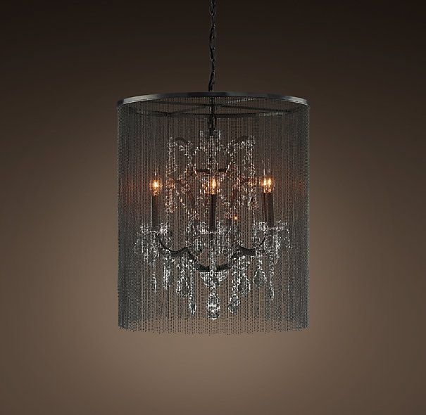 Vaille Crystal Chandelier Small Dining RoomsBall ChainCrystal