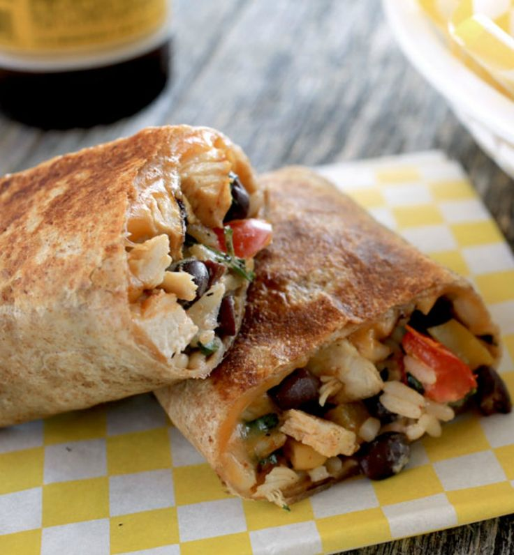 Our crispy southwest chicken wrap recipe is so customizable. Add green chiles or Spanish rice, you could even try shredded pork or ground beef. It's all about what tastes good to you! - Everyday Dishes & DIY