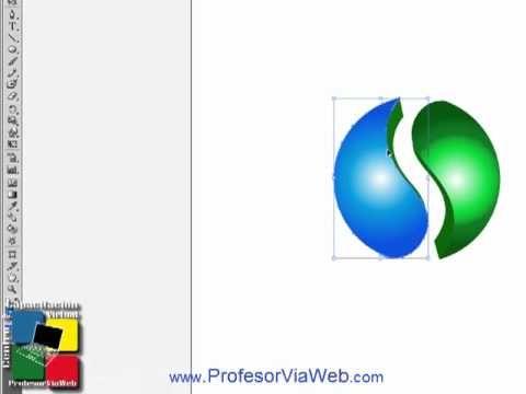 crear logo 3d illustrator - YouTube