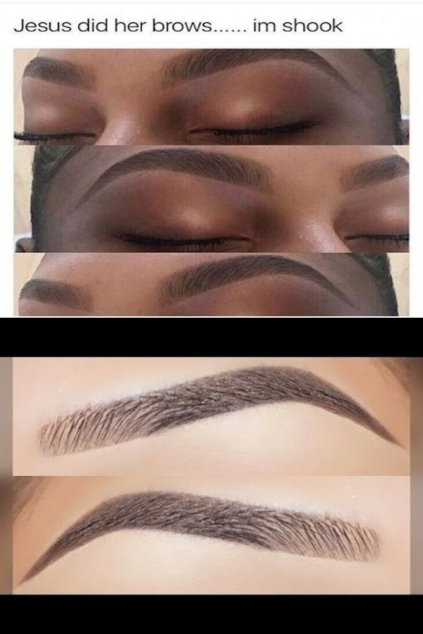 Different Eyebrow Shapes | Eyebrow Makeup For Beginners ...