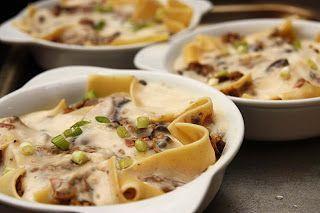 Portobello Mushroom and Vegetarian Welsh Haggis Lasagne (Burn's Night)