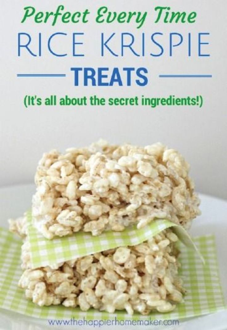 Rice krispies classic recipes 10 handpicked ideas to for How do you make rice crispy treats
