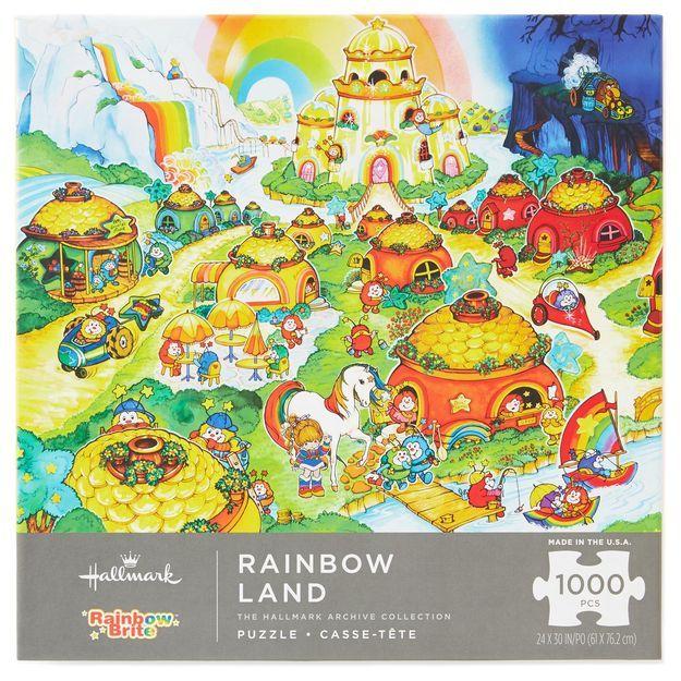 Rainbow Brite™ Rainbow Land 1000-Piece Puzzle Hallmark.com $19.95