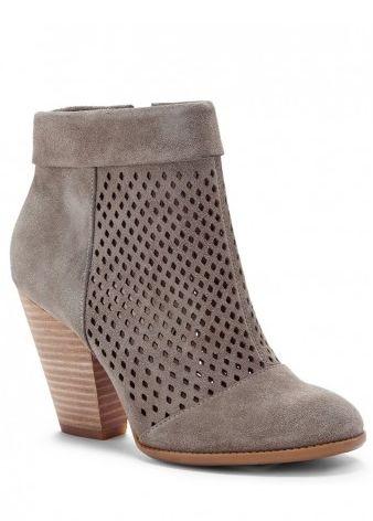 Gorgeous grey booties