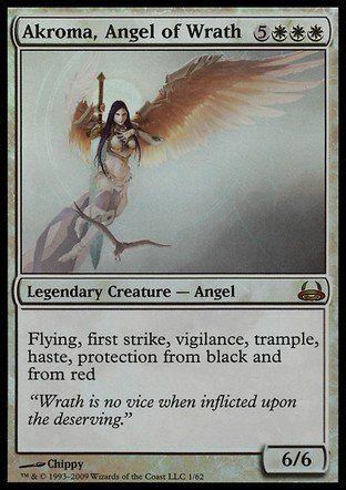 Magic: the Gathering - Akroma, Angel of Wrath - Duel Decks: Divine vs Demonic