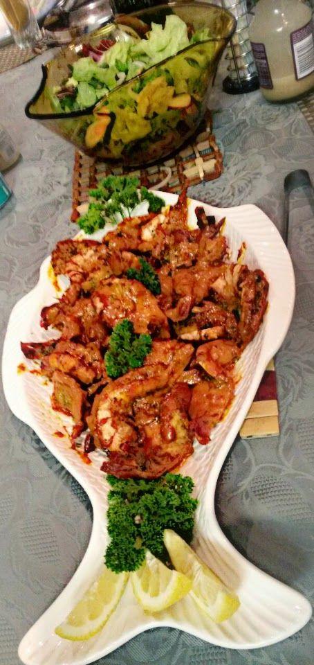 Spicy Fusion Kitchen: Kashmiri Prawns