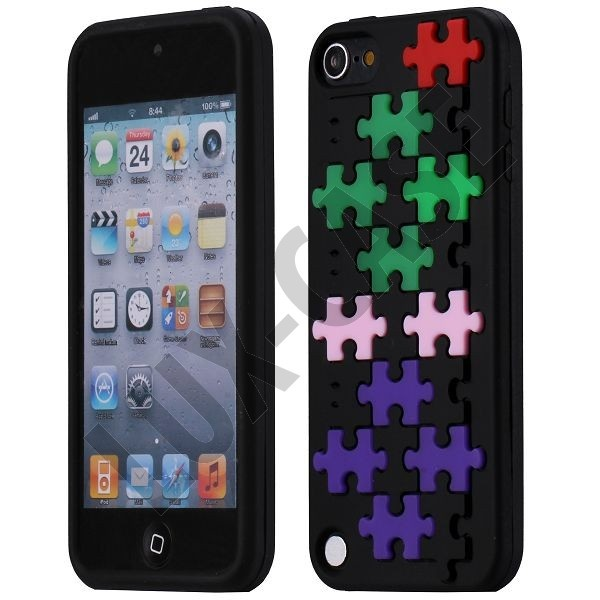Puzzle (Svart) iPod Touch 5 Skydd