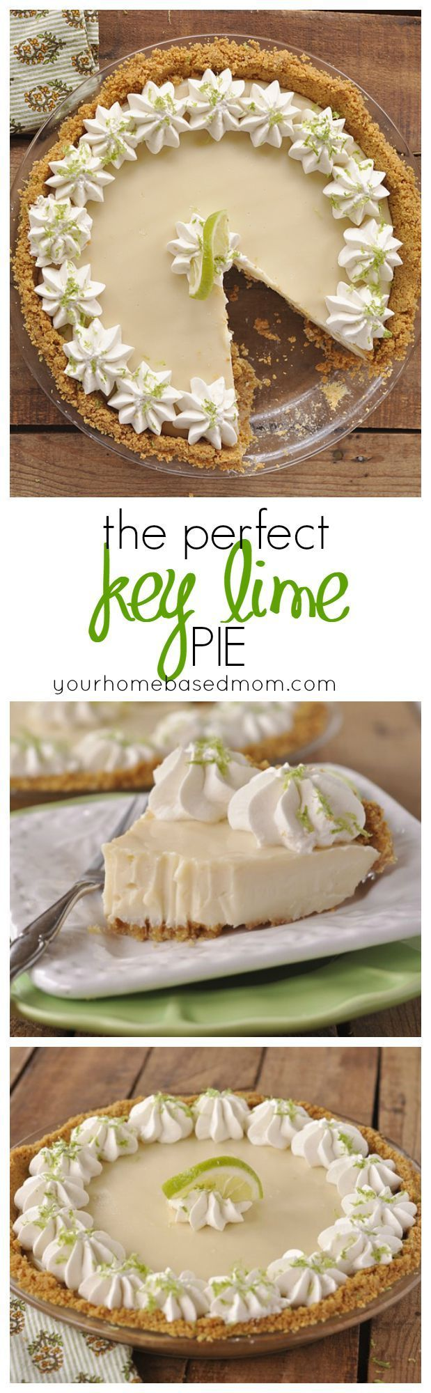 No fooling! This truly is the PERFECT Key Lime Pie. I dare you to try it and prove me wrong!!