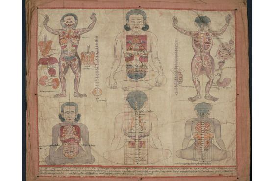 """Bodies in Balance: The Art of Tibetan Medicine"" at the Rubin Museum of Art"