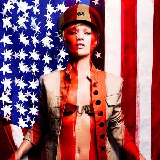 Follow on Instagram @ashleesarajones Kate Moss Independence Day Love! #katemoss #iheartkatemoss #independenceday #highfashion #model #muse #4thofjulyedition #4thofjuly2015 #fashion #style #love #happy4th  @ashleesarajones