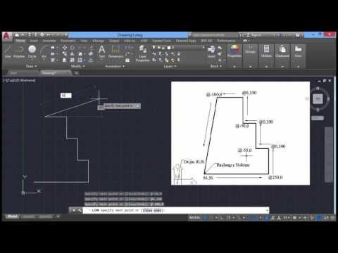 10 koordinat HD Autocad 2017 Eğitim | Solidworks Eğitim - Cinema 4D Eğitim - Autocad Eğitim - Revit Eğitim - 3Ds Max Eğitim - Carrier Hap Eğitim