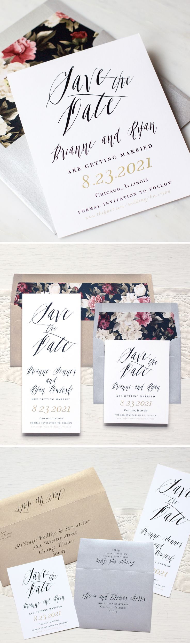 Best 11 Save The Dates Images On Pinterest Bridal Invitations
