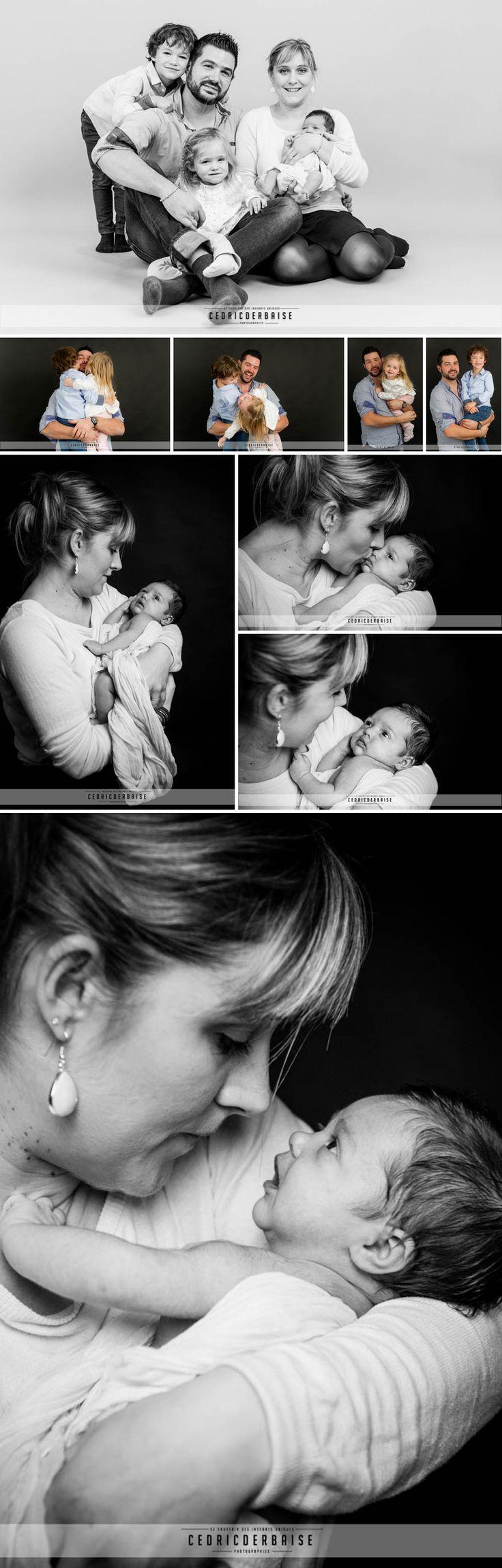 Cedric Derbaise Photographie - Picardie - Oise - Séance naissance en famille au studio