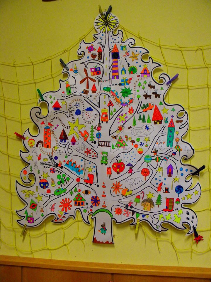 Kindergarten tree of joy