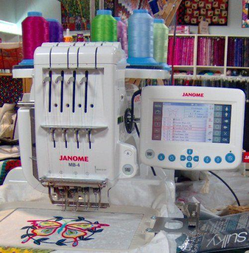 Comparison of Multi-Thread Embroidery Machines ...