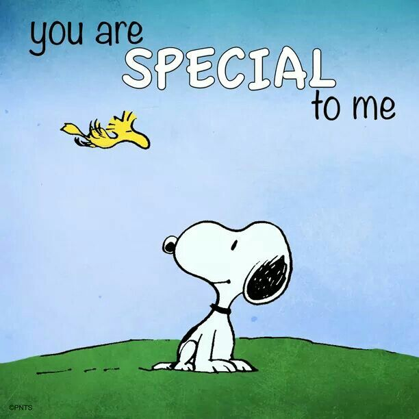 snoopy You Are Special to Me