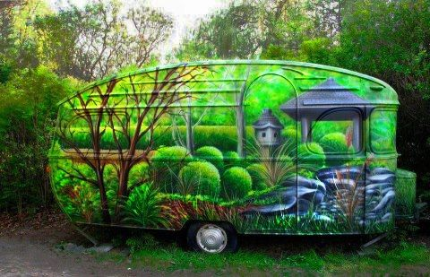 Wow. An amazing paint job.