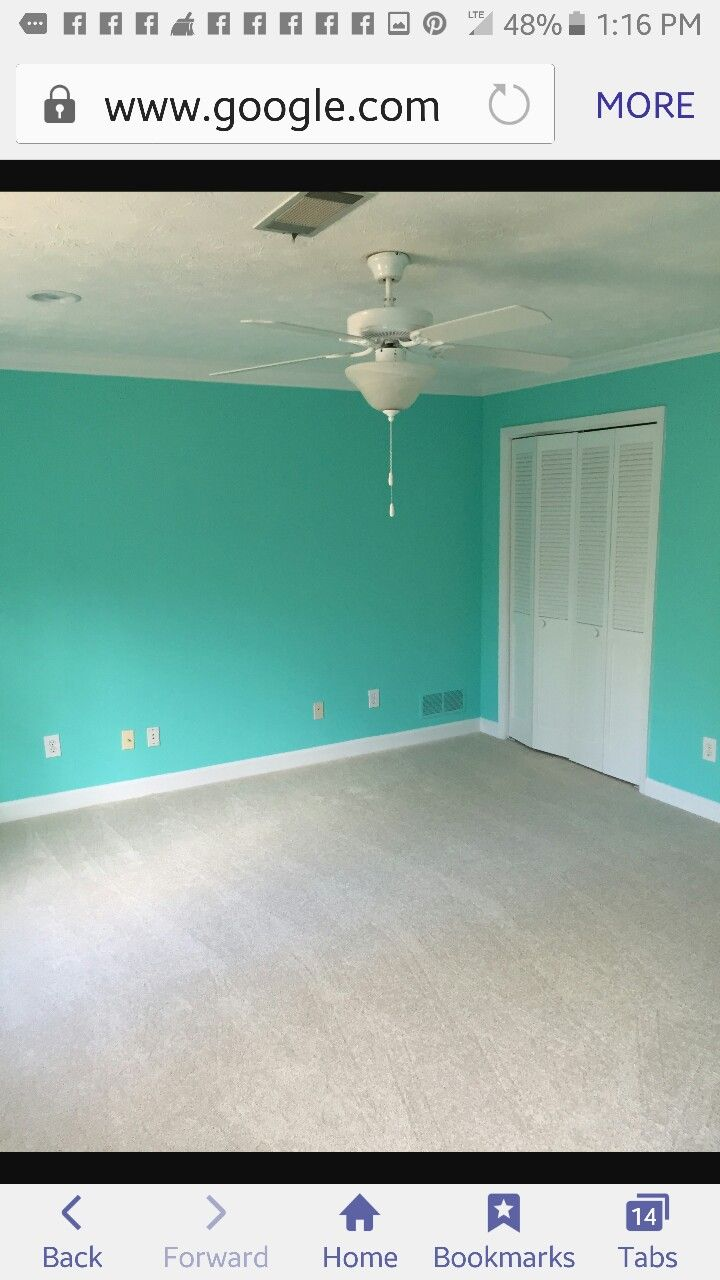 Sherwin Williams Tantalizing Teal Dining Room 2016