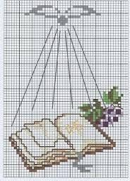 Resultado de imagen para dibujos de la biblia en punto de cruz