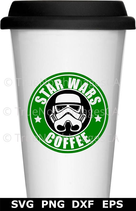 Star Wars Coffee Travel Mug SVG/PNG/DXf/EPS Cut File for