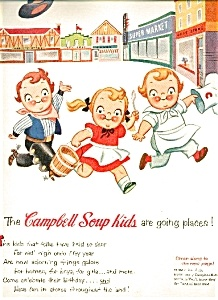 Image detail for -1954 CAMPBELLS SOUP KIDS AD SHEET (Campbell's Soup Ads) at Antiques ...