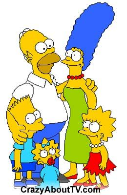 The Simpsons TV Show Characters Picture