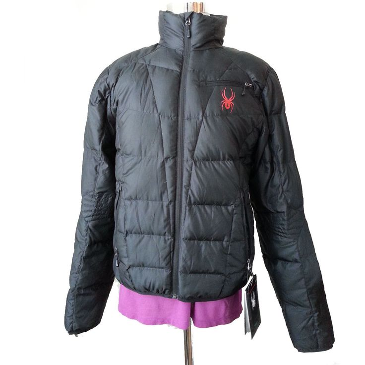 #ebay SPYDER Men Size M Black Puffer Down jacket withing our EBAY store at  http://stores.ebay.com/esquirestore
