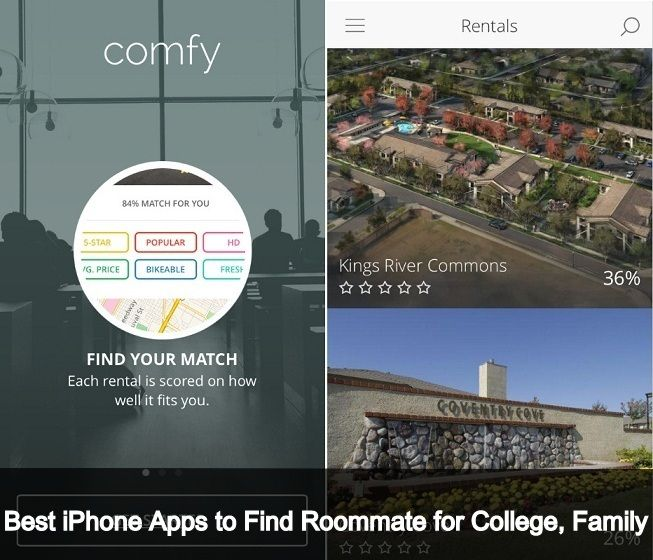 I will share with you best iPhone apps to find roommate for college. If you're new around college campus or new in city use iPhone app to find rent house.
