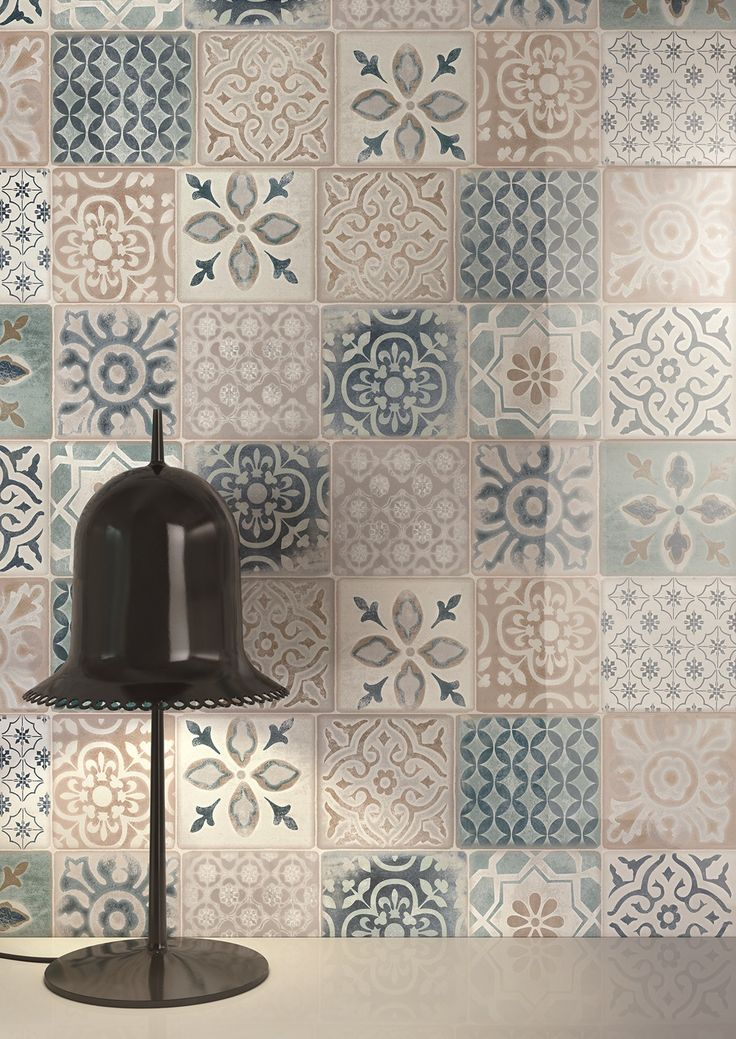 Majolica, cement #tiles, stones, marbles and woods by Ragno