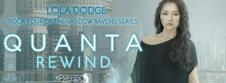 Urban Fantasy Investigations: Cover Reveal + Giveaway: Quanta Rewind by Lola Dod...